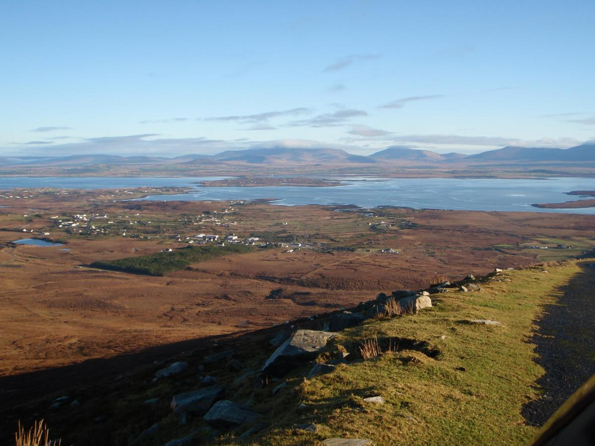 xAchill Island looking E towards the mainland from Mount Minaun (3)