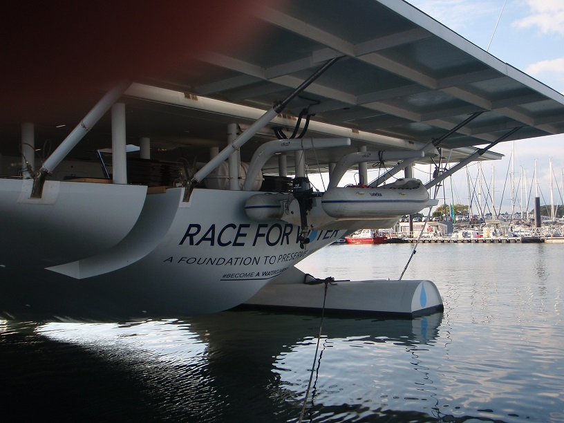 Lorient Kernevel  Solar powered boat 2
