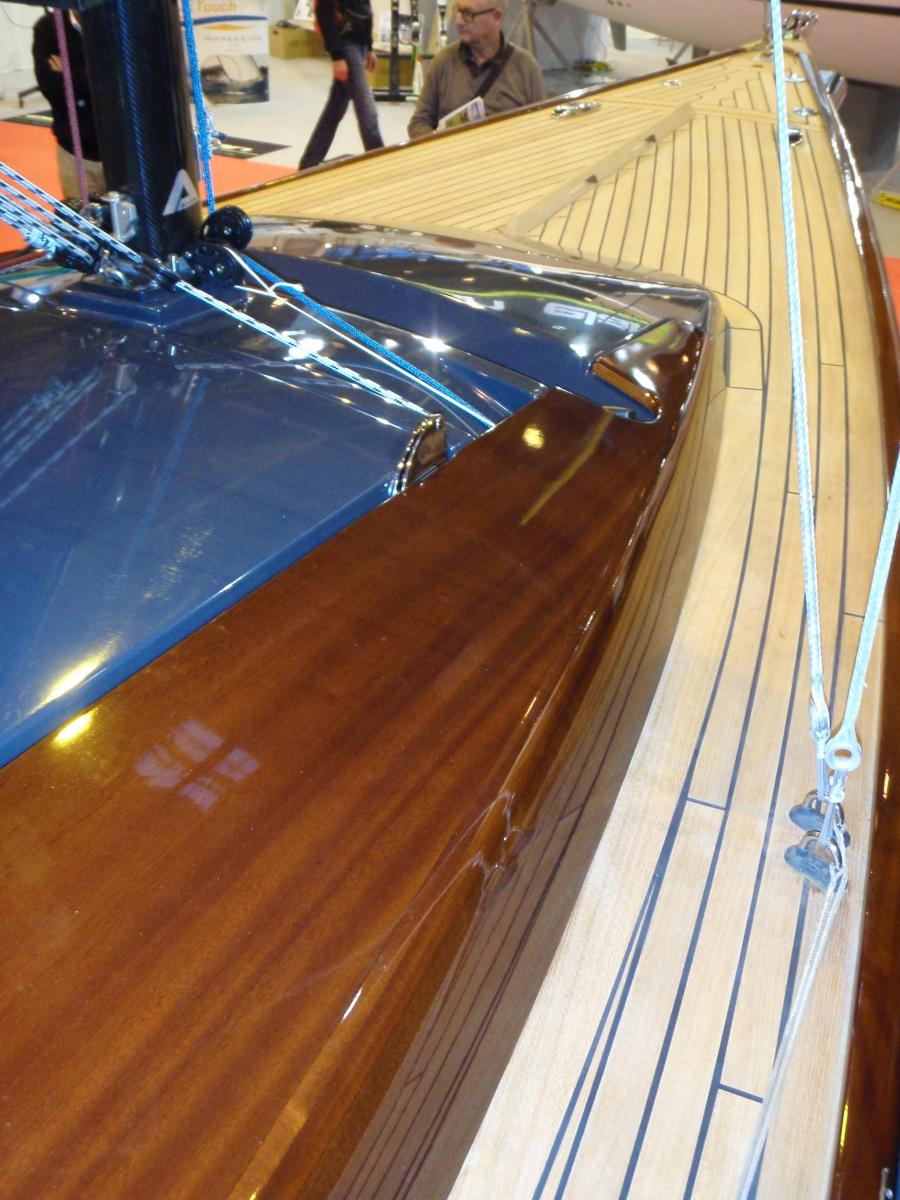 Salon Nautique - Tofinou 8m quality of finish