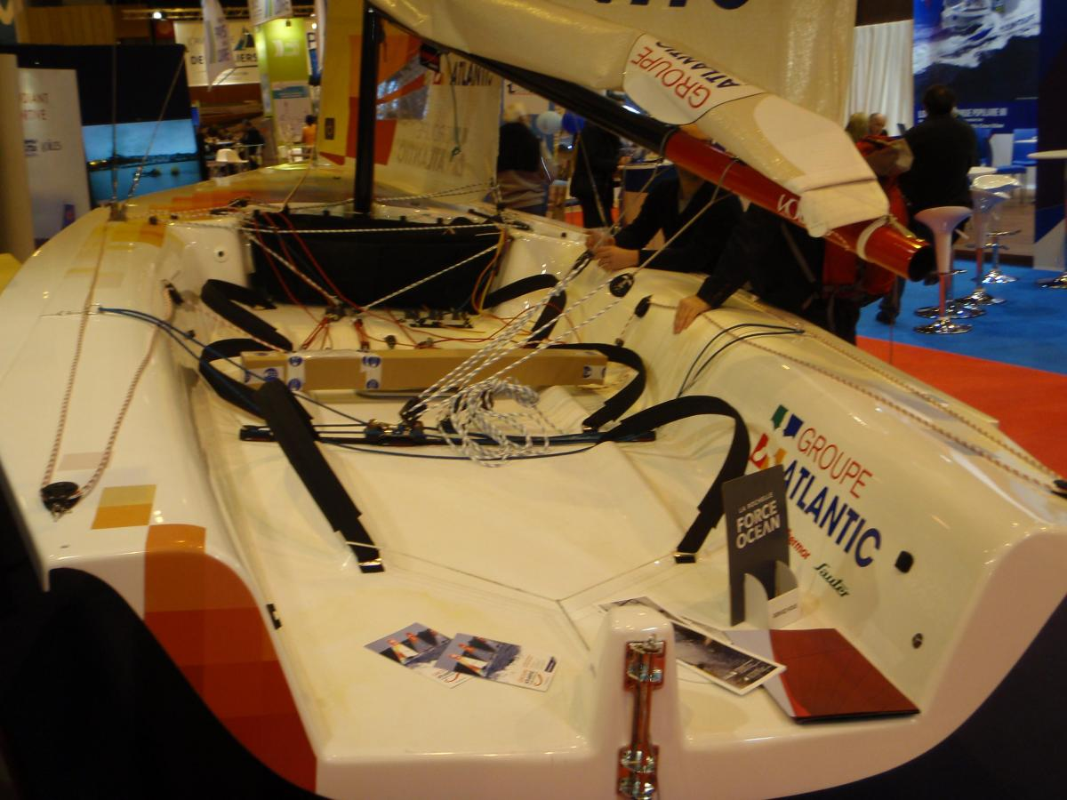 Salon Nautique - sailing sled...another one!