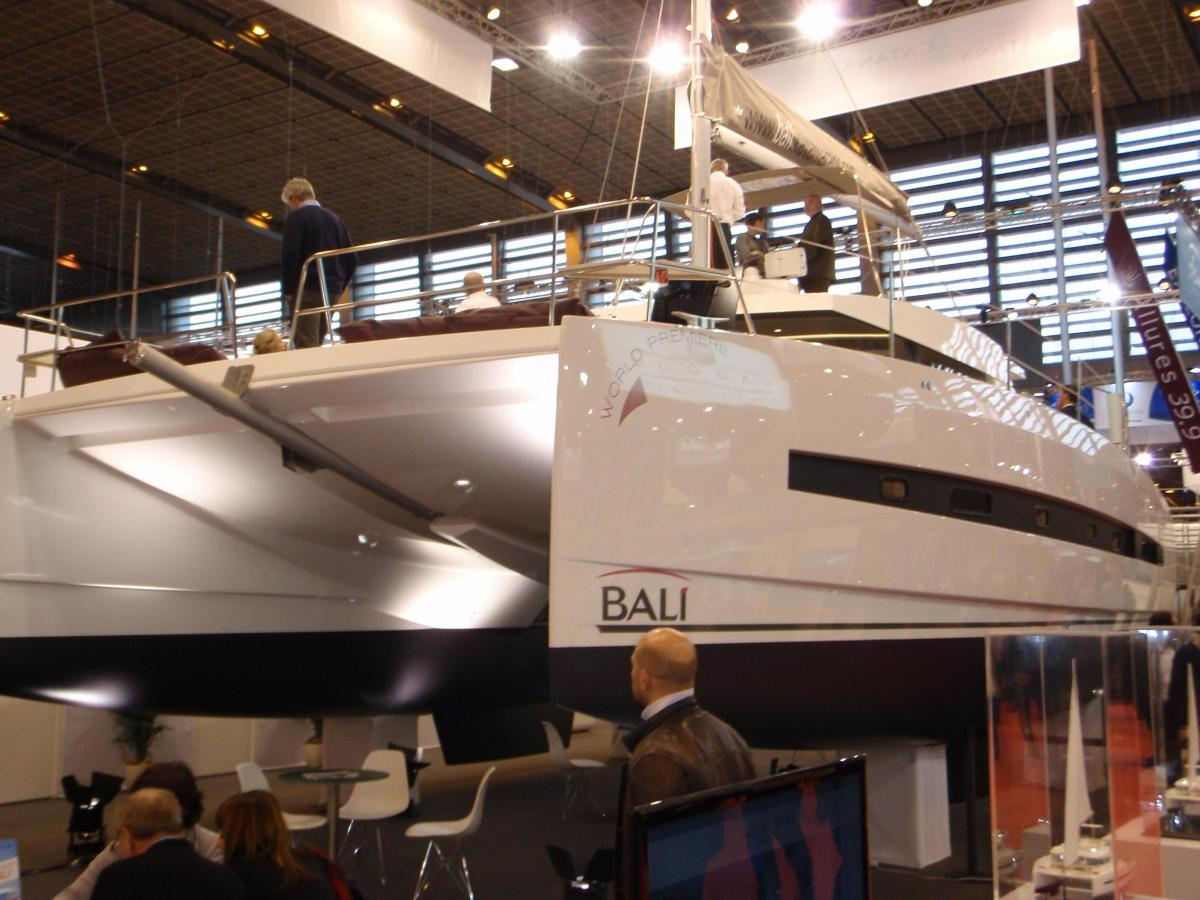 Salon Nautique _ new Catana